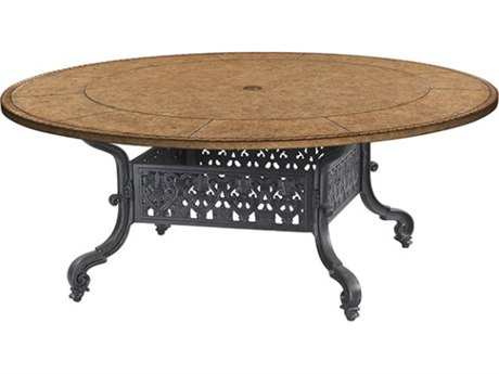 Gensun Florence Cast Aluminum 42 Round/Square Chat Table Base