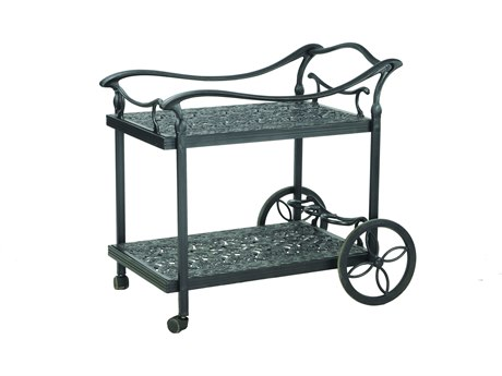Gensun Florence Accessories Cast Aluminum Serving Cart - Welded