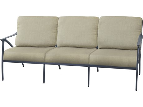 Gensun Amari Aluminum Cushion Sofa PatioLiving