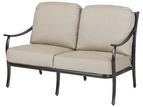 Gensun Edge Aluminum Cushion Loveseat PatioLiving