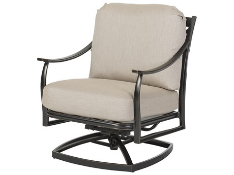 Gensun Edge Aluminum Cushion Lounge Chair
