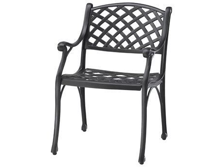 GenSun Columbia Cast Aluminum Dining Chair - Knock Down