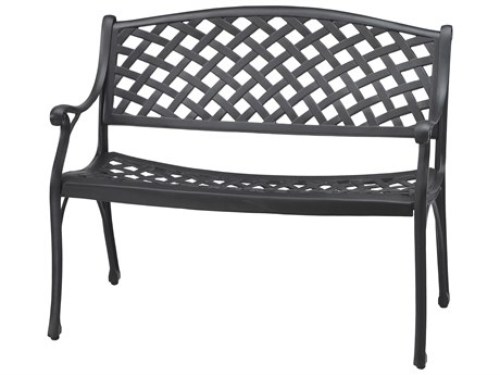 GenSun Columbia Cast Aluminum Bench - Knock Down