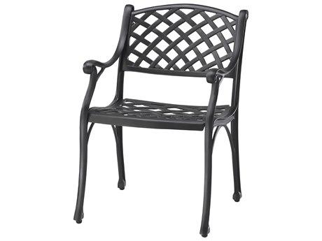 GenSun Columbia Cast Aluminum Dining Chair - Welded