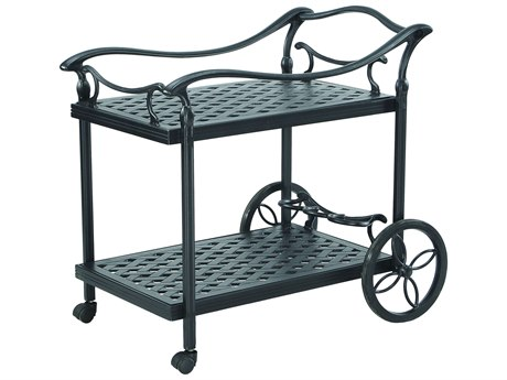 Gensun Coordinate Accessories Cast Aluminum Welded Serving Cart