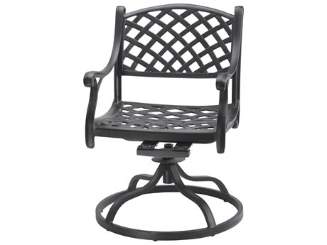 GenSun Columbia Cast Aluminum Swivel Rocker - Welded