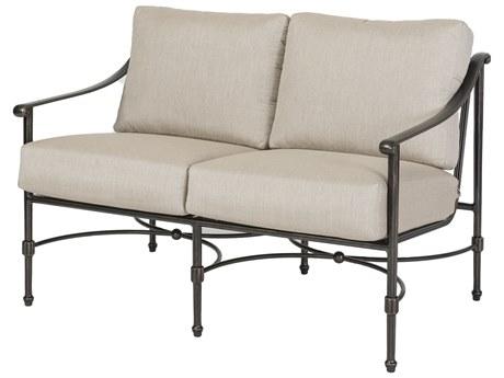 Gensun Morro Bay Cast Aluminum Cushion Loveseat