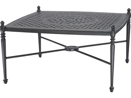 GenSun Grand Terrace Cast Aluminum 42 Square Coffee Table