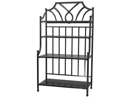 GenSun Grand Terrace Accessories Cast Aluminum 42 Bakers Rack