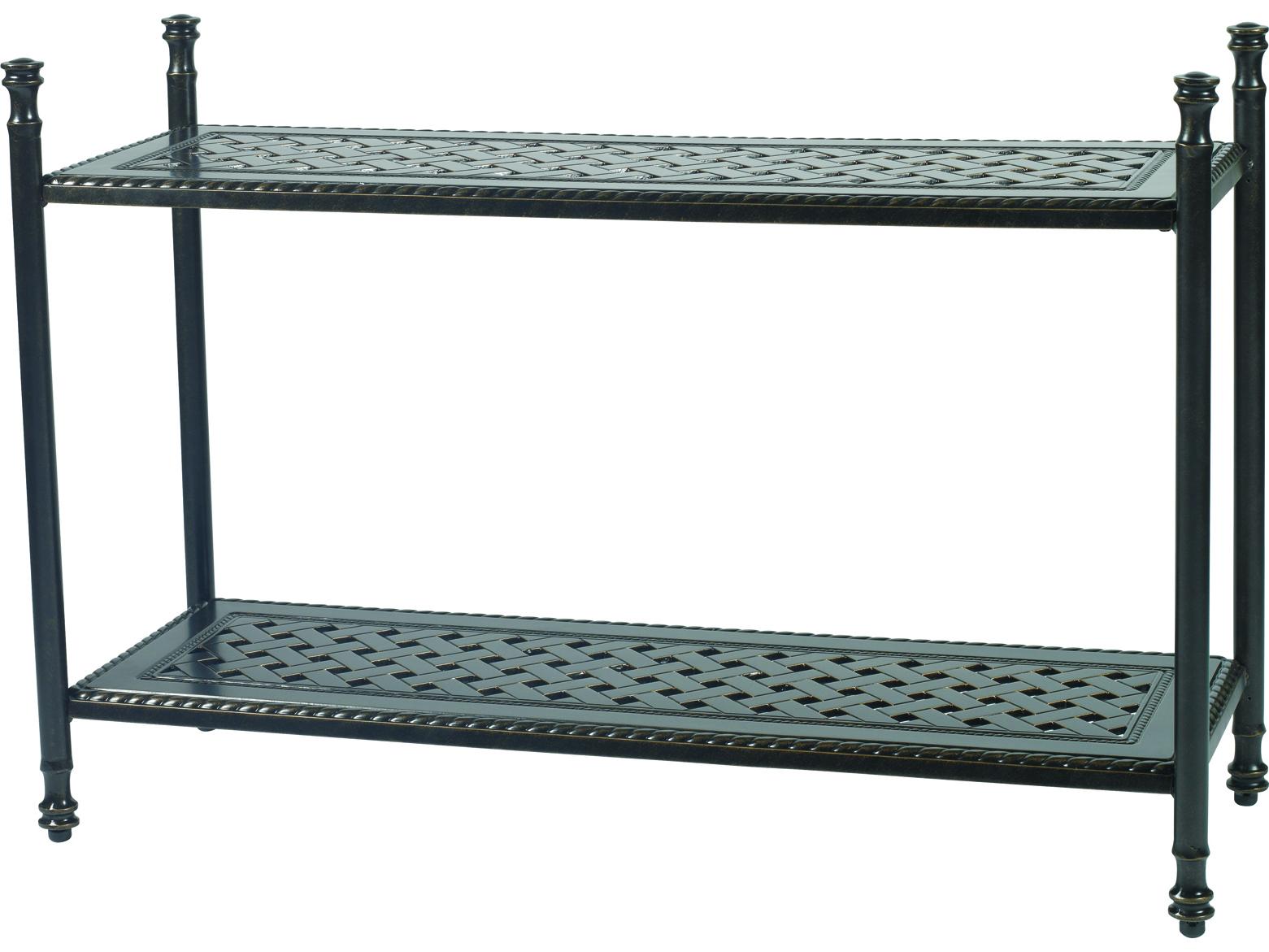 Gensun Grand Terrace Accessories Cast Aluminum 47 5 X 17