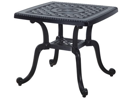 GenSun Grand Terrace Cast Aluminum 24 Square End Table