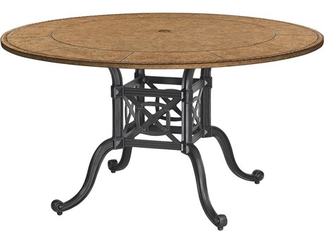 GenSun Grand Terrace Cast Aluminum 48 Round Dining Table Base