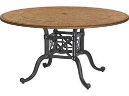 Grand Terrace Cast Aluminum 54 Round Dining Table Base