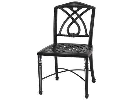 GenSun Terrace Cast Aluminum Cushion Cafe Chair without Arms - Knock Down