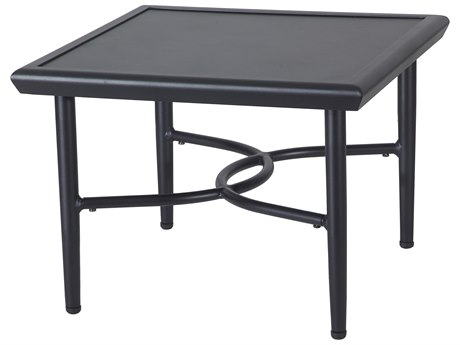 Gensun Talia 22''Wide Square with Aluminum Top End Table