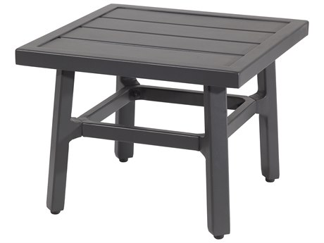 Gensun Plank Aluminum 21''Wide Square End Table