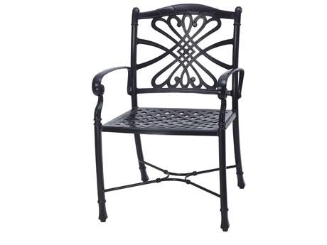 Gensun Bella Vista Cast Aluminum Dining Arm Chair