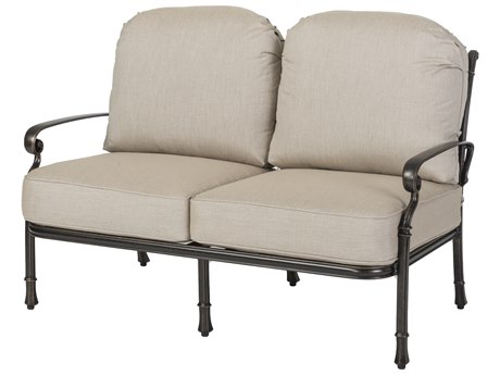 GenSun Bella Vista Cast Aluminum Cushion Loveseat