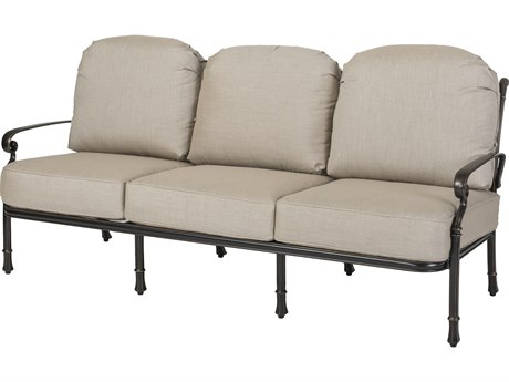 GenSun Bella Vista Cast Aluminum Cushion Sofa