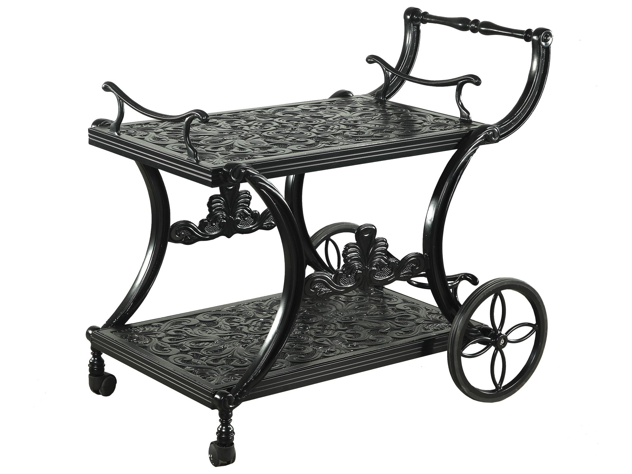 Gensun Regal Accessories Cast Aluminum Serving Cart