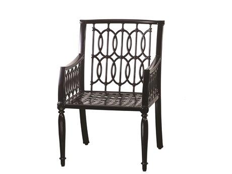 Gensun Manhattan Cast Aluminum Metal Dining Chair