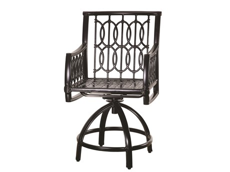 Gensun Manhattan Cast Aluminum Metal Counter Stool