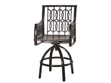Gensun Manhattan Cast Aluminum Metal Bar Stool