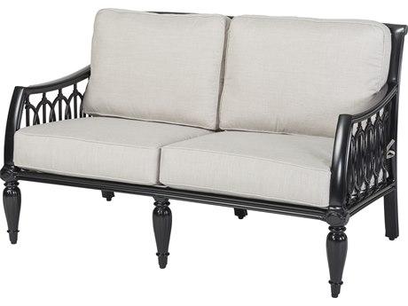 Gensun Manhattan Cast Aluminum Cushion Loveseat