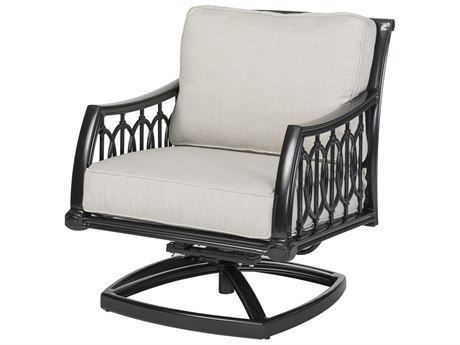 Gensun Manhattan Cast Aluminum Cushion Lounge Chair