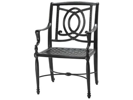 GenSun Bel Air Cast Aluminum Cushion Dining Chair