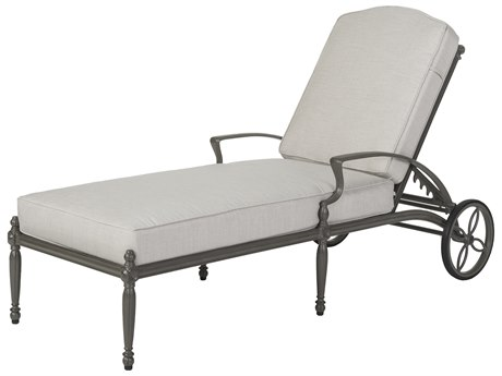 Gensun Bel Air Cast Aluminum Cushion Chaise Lounge