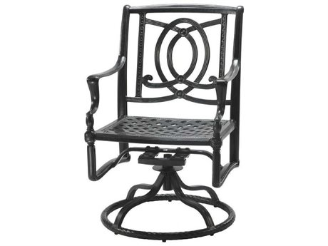 GenSun Bel Air Cast Aluminum Cushion Swivel Rocker