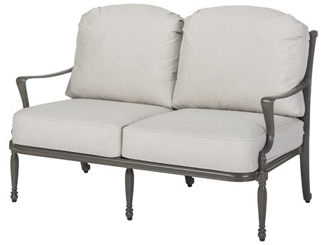 GenSun Bel Air Cast Aluminum Cushion Loveseat