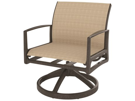 Gensun Phoenix Sling Aluminum Swivel Rocking Lounge Chair
