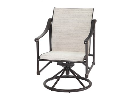 Gensun Morro Bay Sling Cast Aluminum Dining Chair