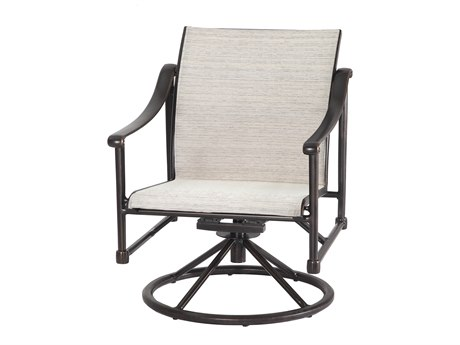 Gensun Morro Bay Sling Cast Aluminum Lounge Chair