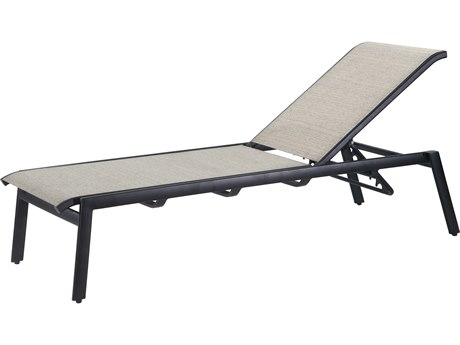 Gensun Echelon Sling Aluminum Chaise Lounge