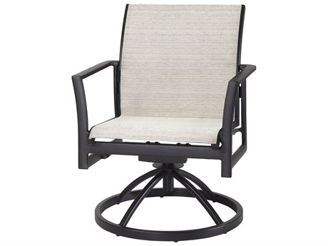 Gensun Echelon Sling Aluminum Dining Chair