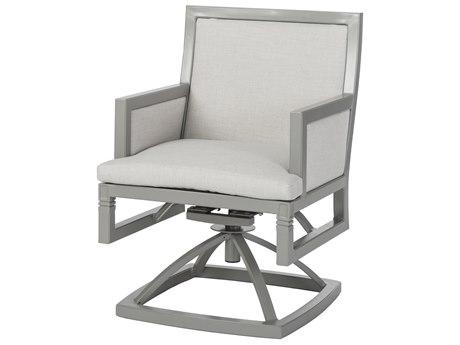Gensun Drake Upholstered Aluminum Swivel Rocker