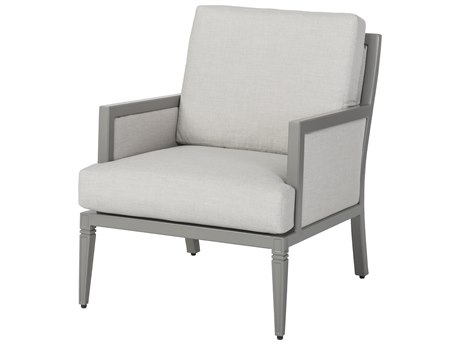 Gensun Drake Upholstered Aluminum Lounge Chair