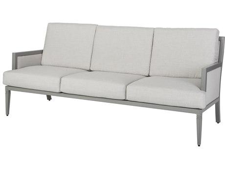 Gensun Drake Upholstered Aluminum Sofa PatioLiving