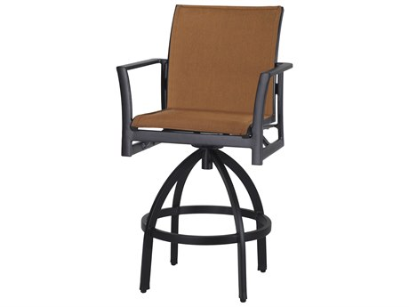 Gensun Echelon Padded Sling Aluminum Bar Stool
