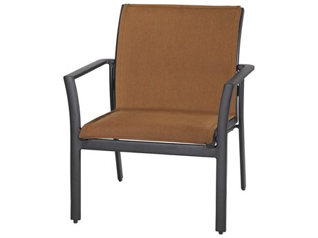 Gensun Echelon Padded Sling Aluminum Lounge Chair