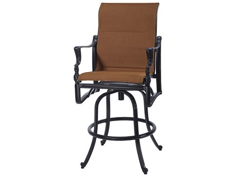 Gensun Bel Air Padded Sling Patio Bar Stool
