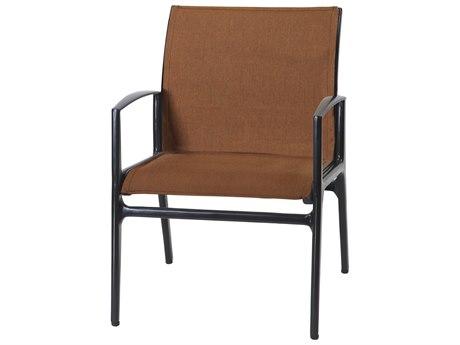 Gensun Phoenix Padded Sling Aluminum Dining Chair