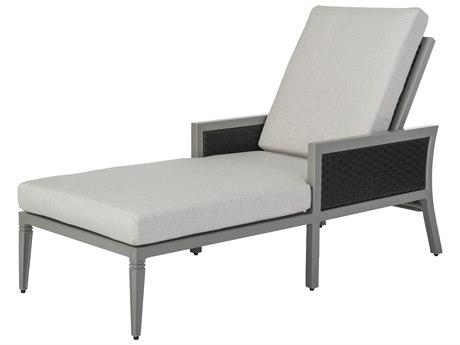 GenSun Drake Woven Cushion Chaise Lounge
