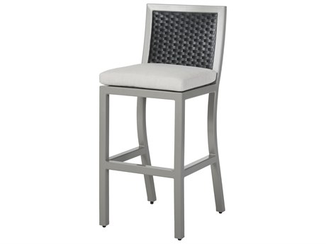 Gensun Drake Woven Cushion Stationary Bar Stool PatioLiving