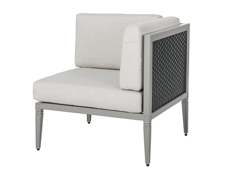 Gensun Drake Woven Cushion Corner/End Chair PatioLiving