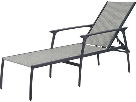 GenSun Amari Woven Aluminum Wicker Chaise Lounge