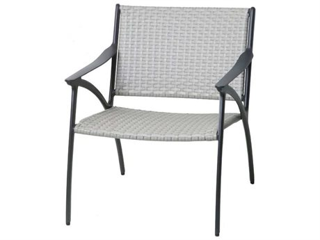 Gensun Amari Woven Aluminum Wicker Lounge Chair